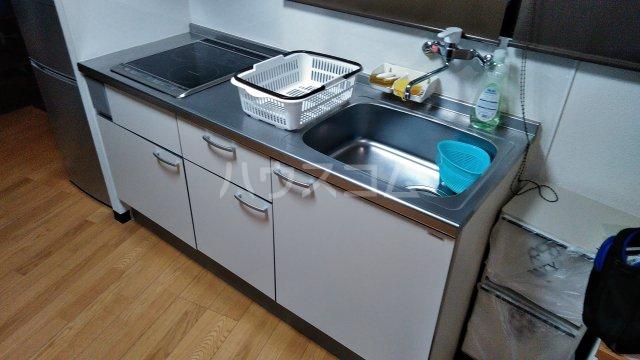 大場ビル 201号室のキッチン