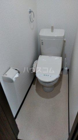 大場ビル 201号室のトイレ