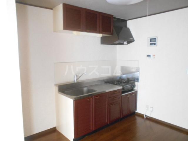 グランハイム栄B棟 106号室のキッチン