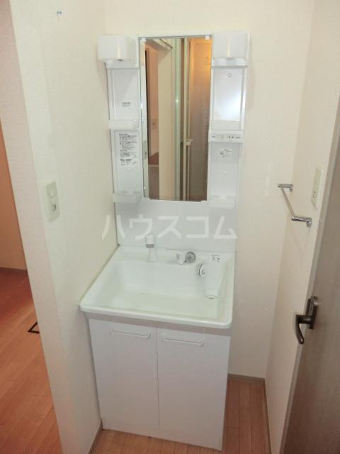 グリーンオーク 101号室の洗面所