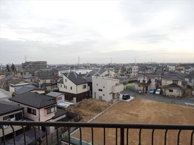 藤和春日部ハイタウン3号棟 508号室の景色