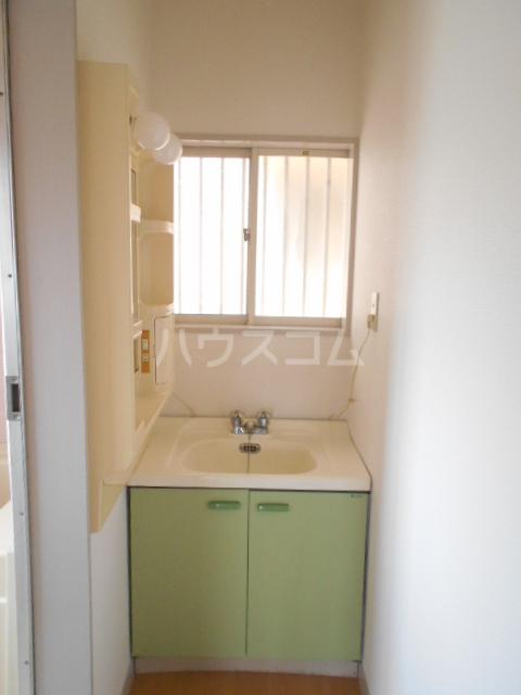 グレースコーポ 202号室の洗面所