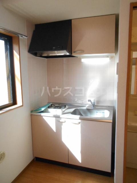 パレス・ユートピア 01020号室のキッチン