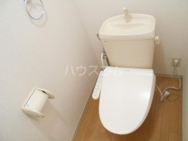 ファミール高野台 202号室のトイレ