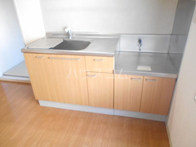 ファミール高野台 202号室のキッチン