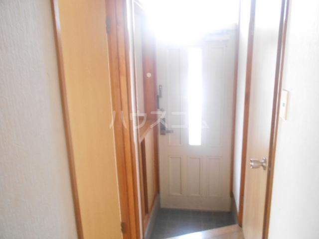 ロイヤルハイツ三浜 101号室の玄関