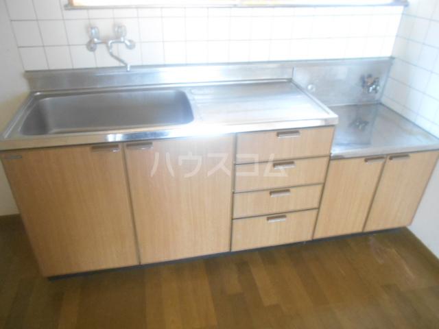 ロイヤルハイツ三浜 101号室のキッチン
