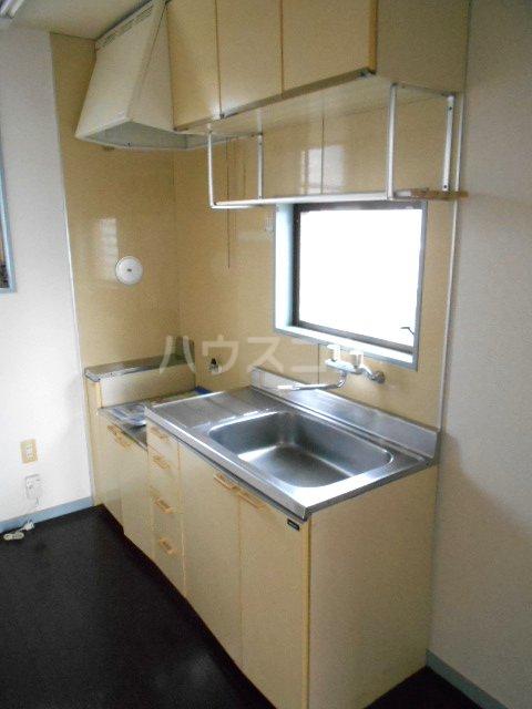 第2グリーンテラスコーザン 201号室のキッチン