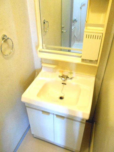 第2グリーンテラスコーザン 201号室の洗面所
