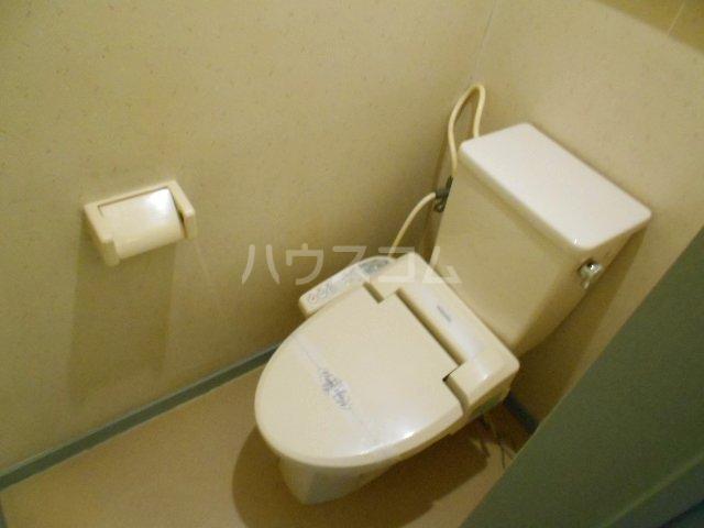 第2グリーンテラスコーザン 201号室のトイレ