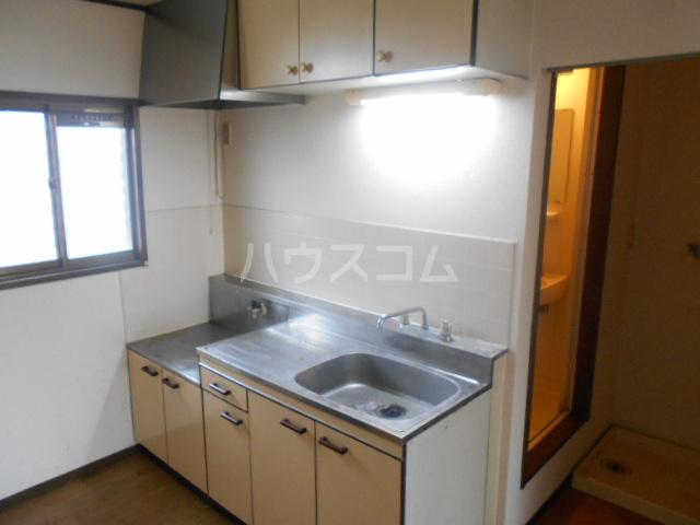 堀コーポラス 205号室のキッチン