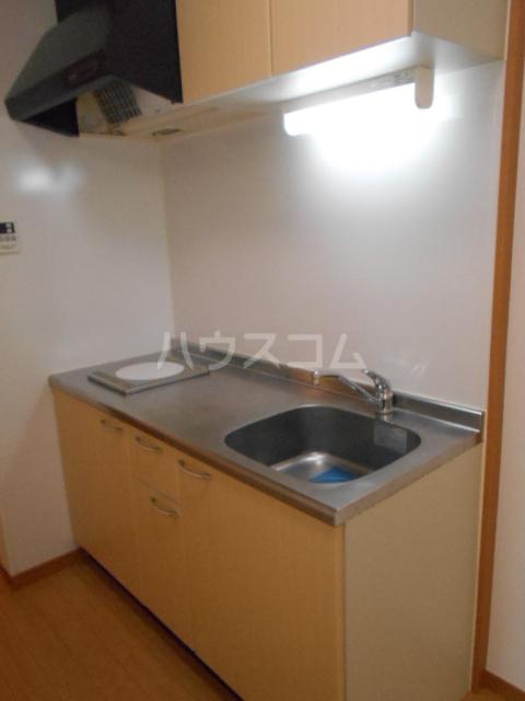アルペンローゼ 101号室のキッチン