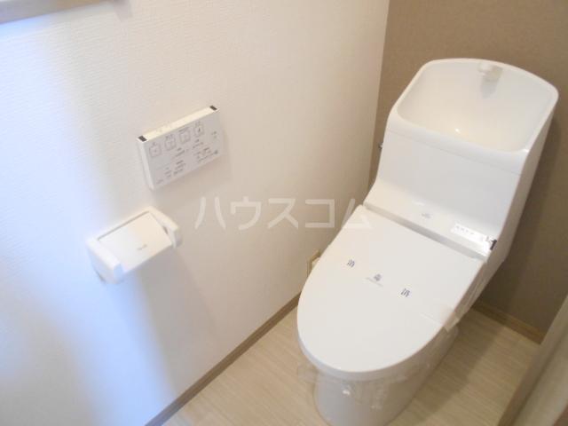 龍村貸家のトイレ