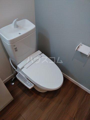 アヴェニール岩槻 201号室のトイレ