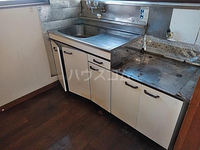 リバーサイドイン堂山B 101号室のキッチン