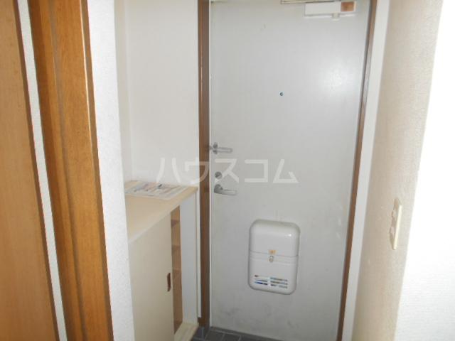 ハイツタナカⅡ 202号室の玄関