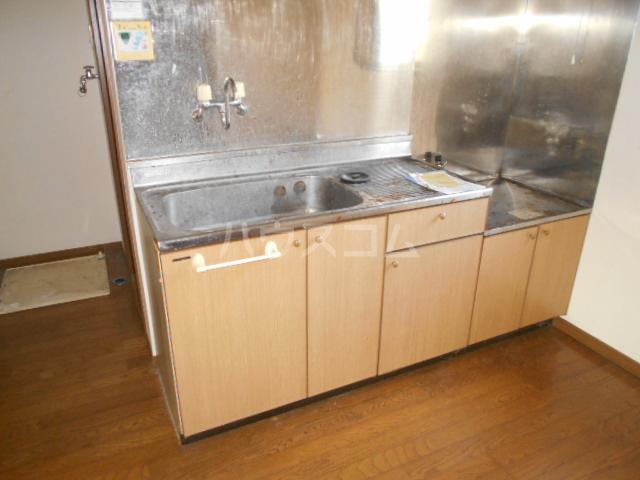 ハイツタナカⅡ 202号室のキッチン
