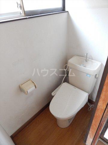 野田市木間ケ瀬貸家のトイレ