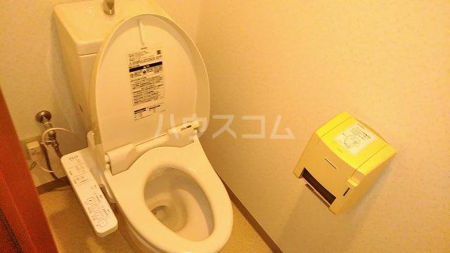 グレイス青葉 301号室のトイレ
