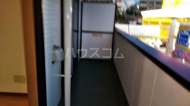 グレイス青葉 301号室のバルコニー