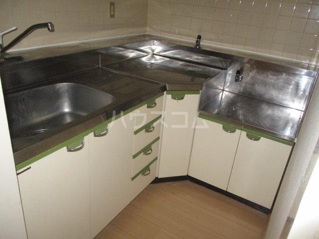 フルール三神 三番館 406号室のキッチン