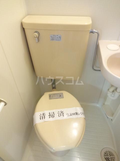 エステートピアえるむ 103号室のトイレ