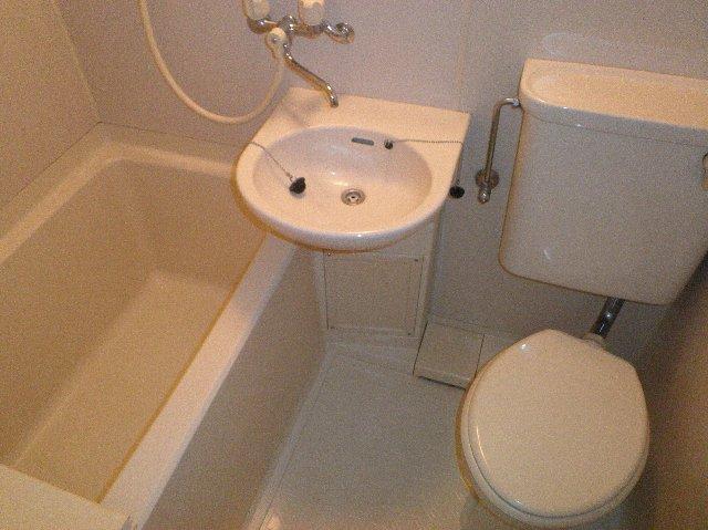 金子ハイツ 101号室の風呂
