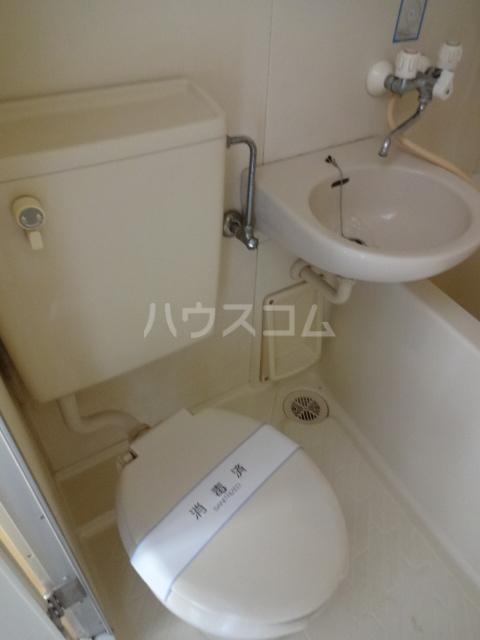 ハイツ田喜野井 106号室のトイレ