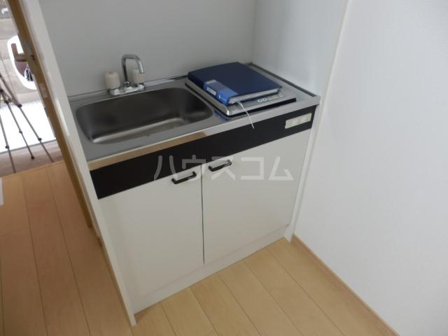 ミルプラージュ 201号室のキッチン