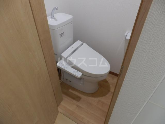 ミルプラージュ 201号室のトイレ