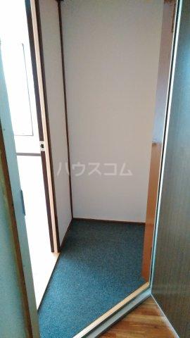 富士見荘 201号室の玄関