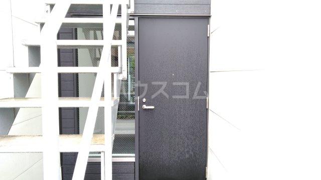 コンフォータブル中原の玄関
