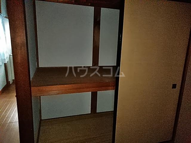 白井荘 1号室の収納