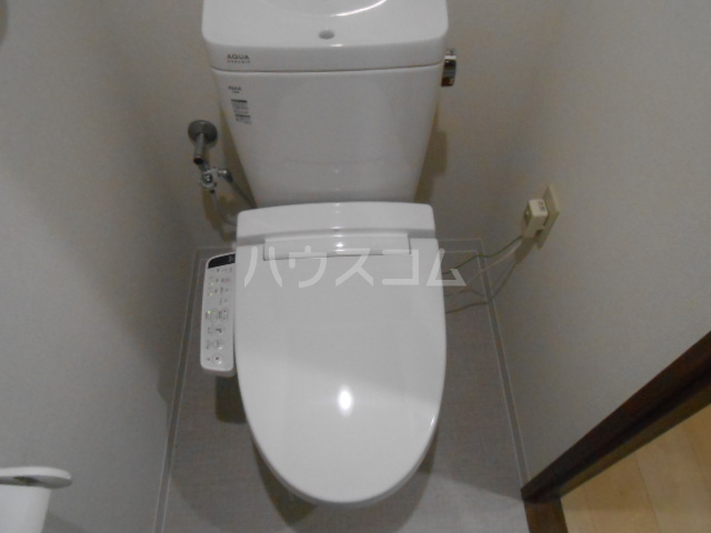 スカイパレス東戸塚 502号室のトイレ