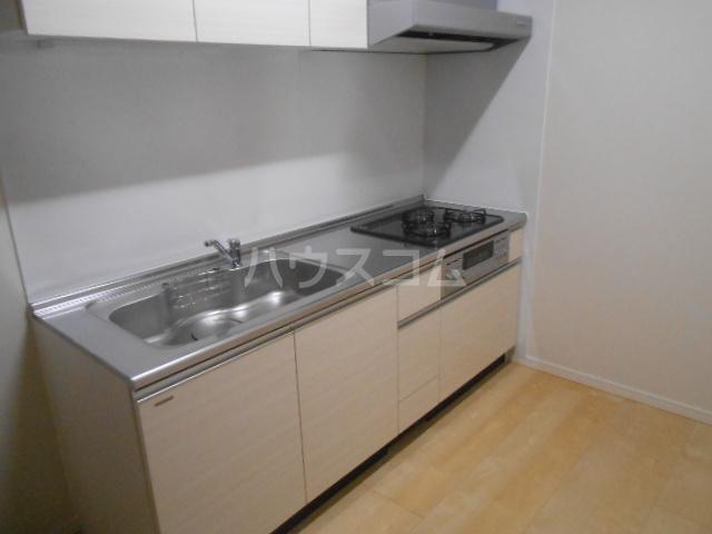 スカイパレス東戸塚 502号室のキッチン