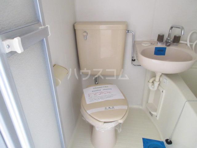 メゾンチバ 303号室のトイレ
