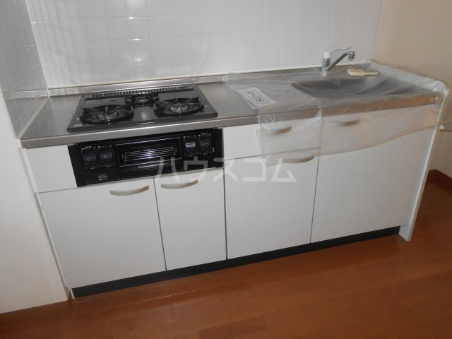 グリーンガーデン東戸塚 202号室のキッチン