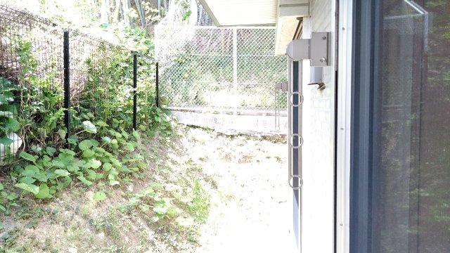 カサブランカ 103号室のバルコニー