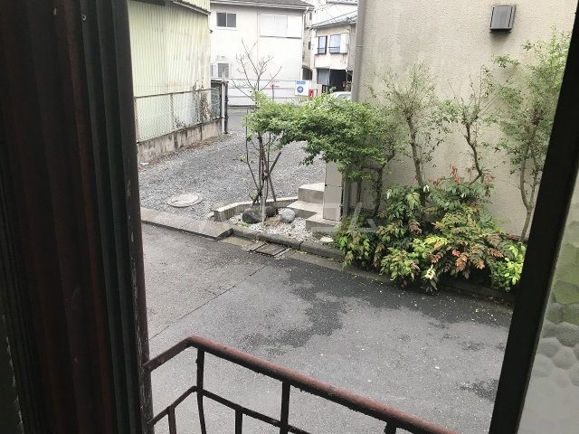 石井アパート1号棟 1号室の景色