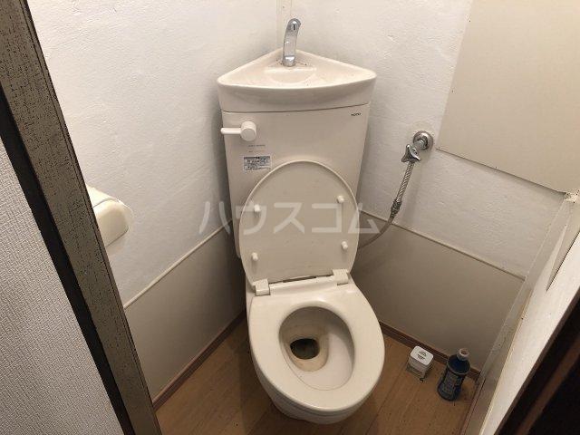 石井アパート1号棟 1号室のトイレ