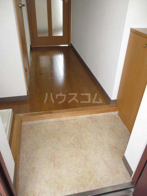 メドウスいずみ中央 204号室の玄関