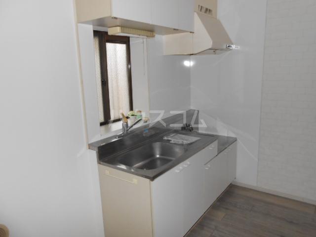 マンション築山第5 101号室のキッチン