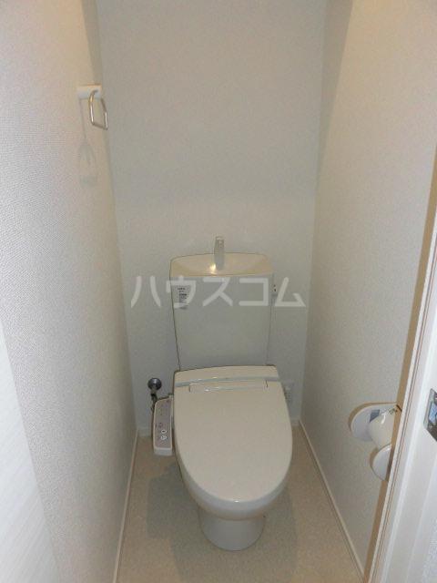 Wing湘南 207号室のトイレ