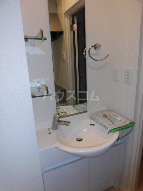 Wing湘南 207号室の洗面所