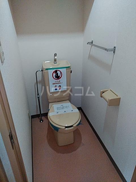 それいゆ泉 502号室のトイレ
