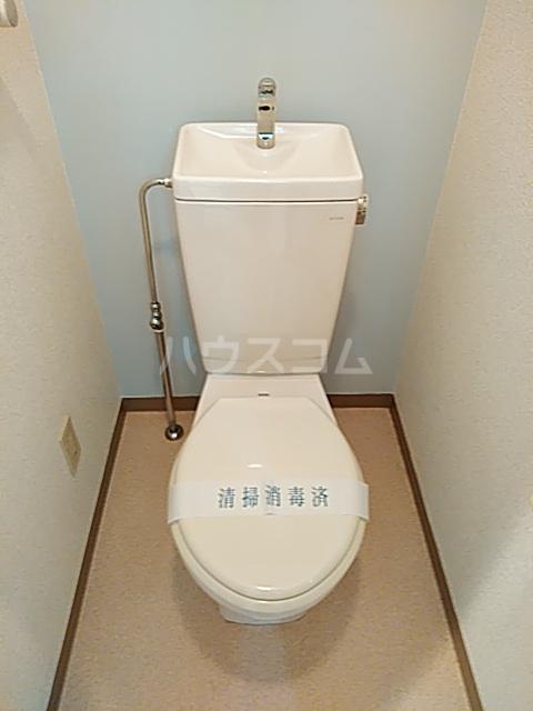 エスペランサ武蔵野 107号室のトイレ