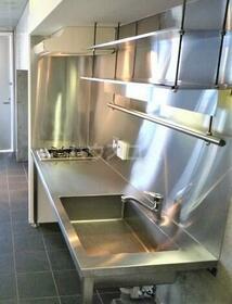Ombrage 306号室のキッチン