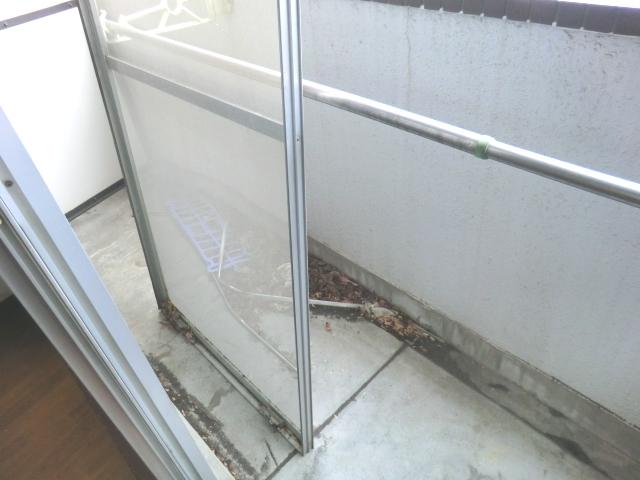 ラ・メゾン藤ヶ丘 6C号室のバルコニー
