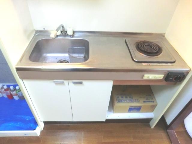 ラ・メゾン藤ヶ丘 6C号室のキッチン