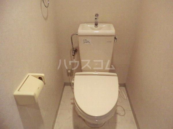 レージュ至来 305号室のトイレ